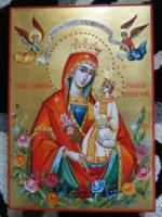 Maica Domnului Floarea Nepieritoare- Icoana sufletelor neprihanite si pururea fecioresti!