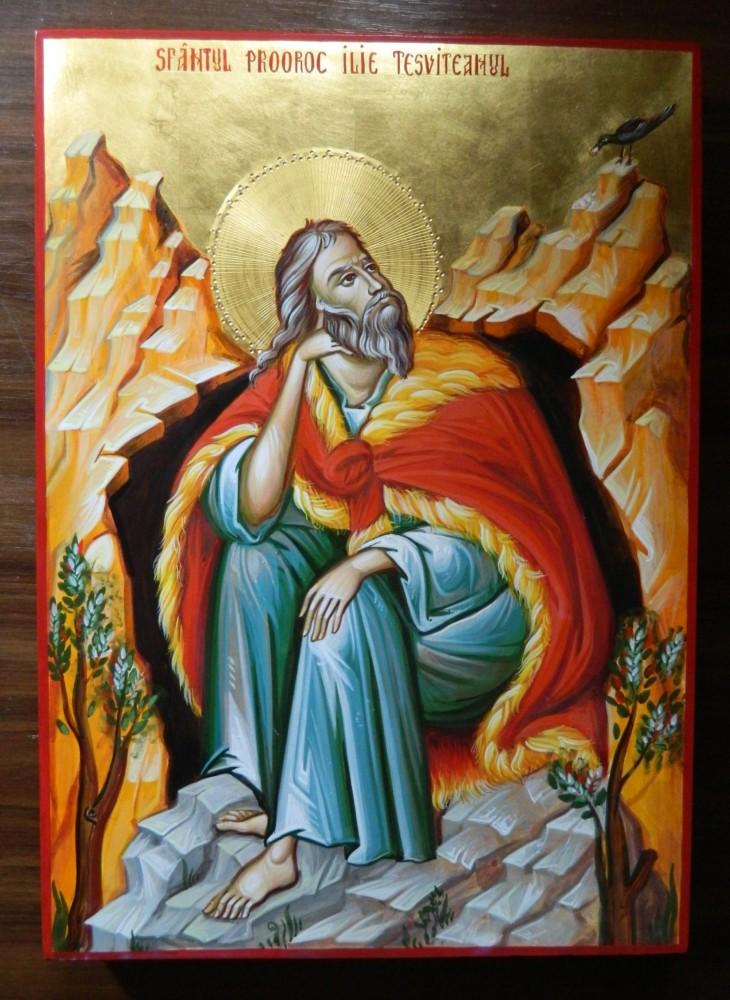 Sfantul Prooroc Ilie Tesviteanul!-un exemplu de mare tarie si hotarare in credinta!