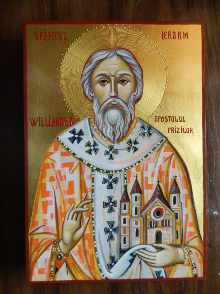 Sfantul Apostol Willibrord- Apostolul frizilor, vindecatorul bolilor de epilepsie!-  Holy Apostle Willibrord - Apostle of the Frizes, the healer of epilepsy diseases!