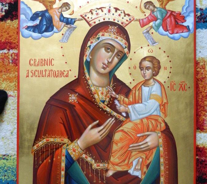 Maica Domnului Grabnic Ascultatoarea- Ceea ce implineste toate cererile noastre cele bune!        Mother of God Gorgoepikou - She is the one that fulfills all our best demands!
