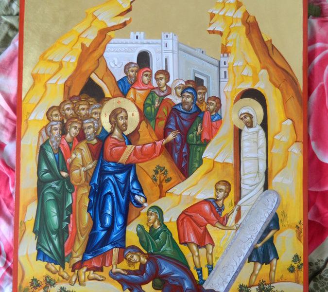 INVIEREA LUI LAZAR- Icoana ridicarii noastre in viata Domnului Hristos!