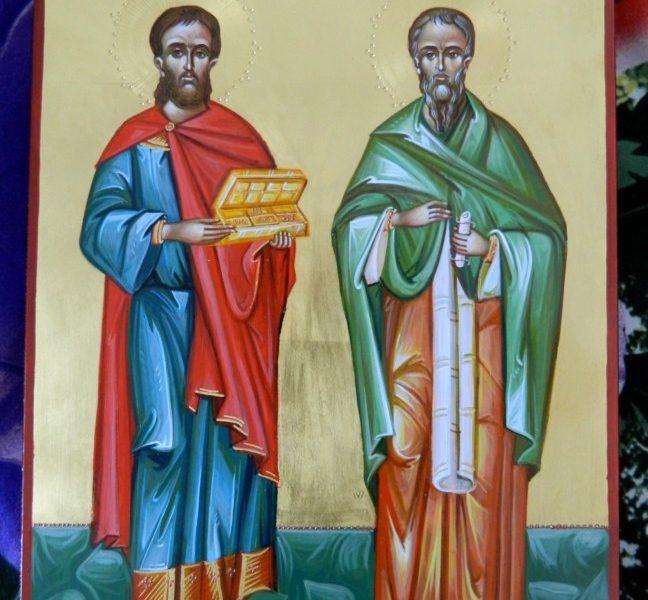 Sfintii Doctori fara de arginti- Chir si Ioan,Cosma si Damian--Ocrotitorii celor ce videca trupurile noastre!