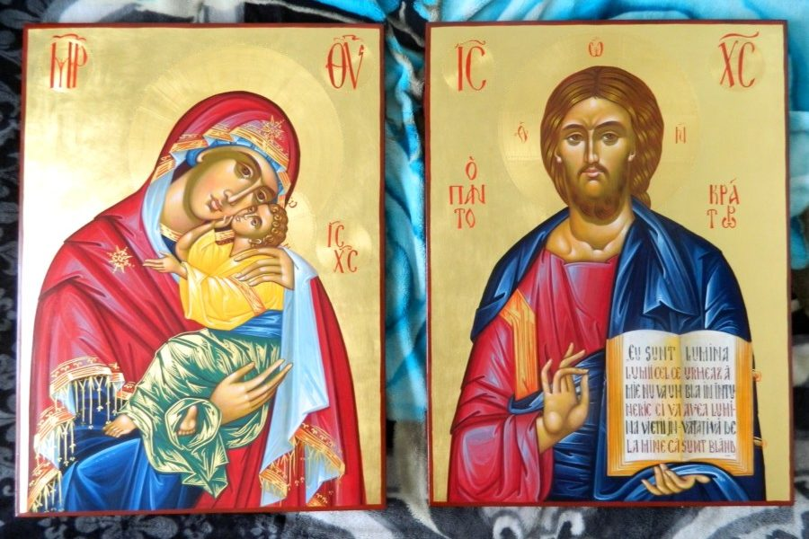 ICOANELE IMPARATESTI- Cele doua ferestre spre cer! THE MOUST IMPORTANT ICONS OF THE ICONOSTASIS - The two windows to the heaven!
