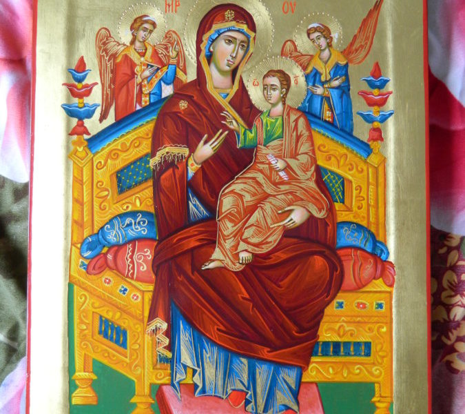 Maica Domnului Pantanassa- Vindecatoarea de cancer!  Mother of God Pantanassa- Cancer healer!