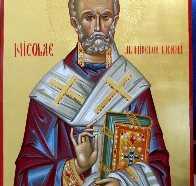 Sfantul Ierarh NICOLAE- Marele nostru binefacator si pazitor de rele!                  Saint Hierarch Nicholas- Our great benefactor and the best quardian from evil!
