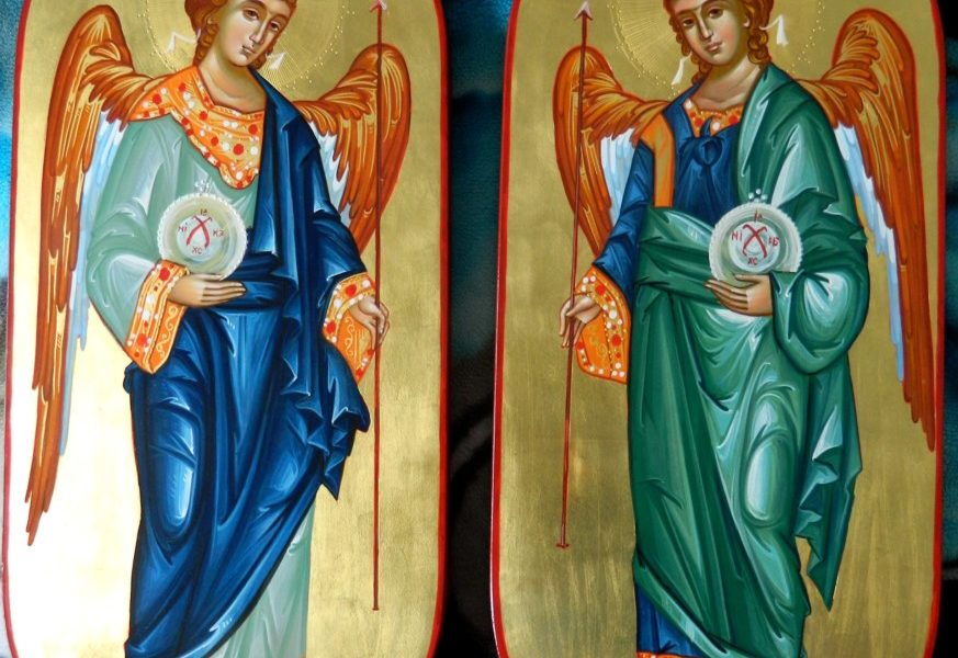 Sfintii Arhangheli Mihail si Gavriil- Cei grabnic ajutatori in lupta noastra cu dusmanii nevazuti!-  Holy Archangels Michael and Gavriil - Those quick helpers in our fight with the unseen enemies!