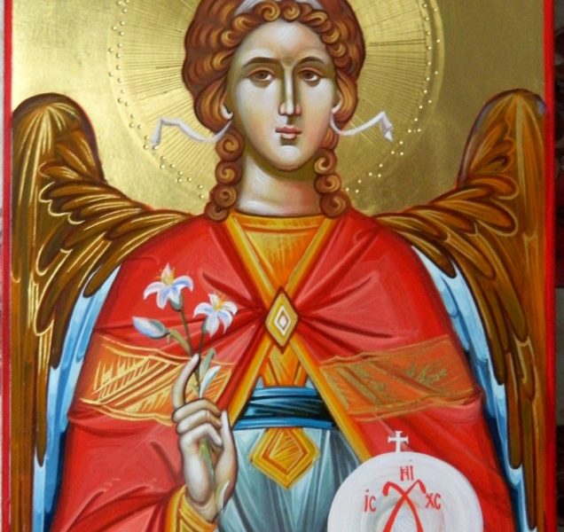 Sfantul Arhanghel Gavriil- Cel ce vesteste nasterea Domnului Hristos in lume! Saint Archangel Gavriil - The one who announces the birth of Christ in the world!