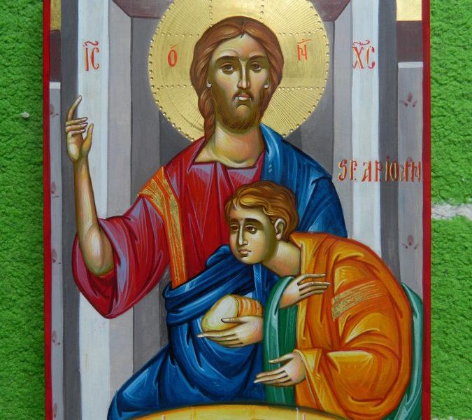 Sfantul Apostol Ioan - Ucenicul cel iubit al Domnului- Icoana tinerilor teologi!                                 Saint John the Apostle - The beloved disciple of the Lord - The icon of young theologians!