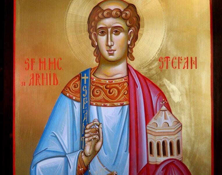 Sfantul Arhidiacon Stefan- Intaiul mucenic al crestinatatii!- Saint Martyr Stephen- The first martyr of Christianity!