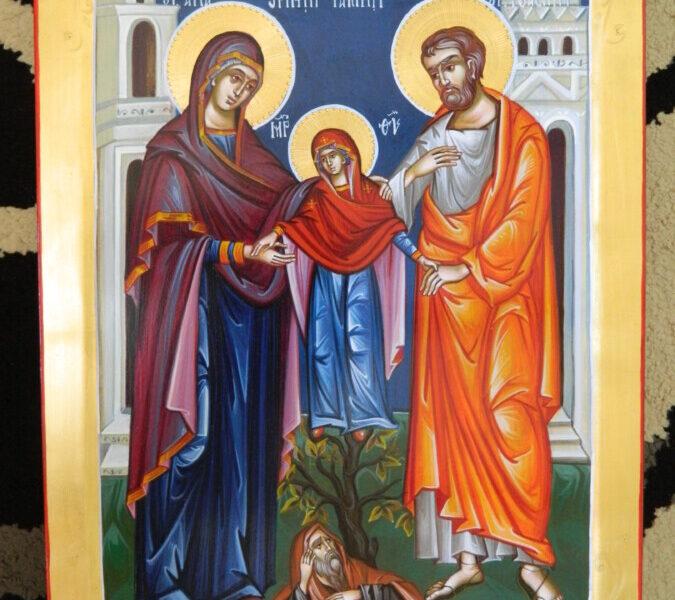 Sfintii si Dreptii parinti Ioachim si Ana-  Ocrotitorii tuturor parintilor crestini!