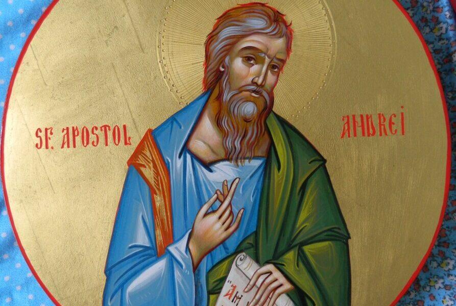 Sfantul Apostol Andrei cel intai chemat!- mijlocitorul romanilor ortodocsi!