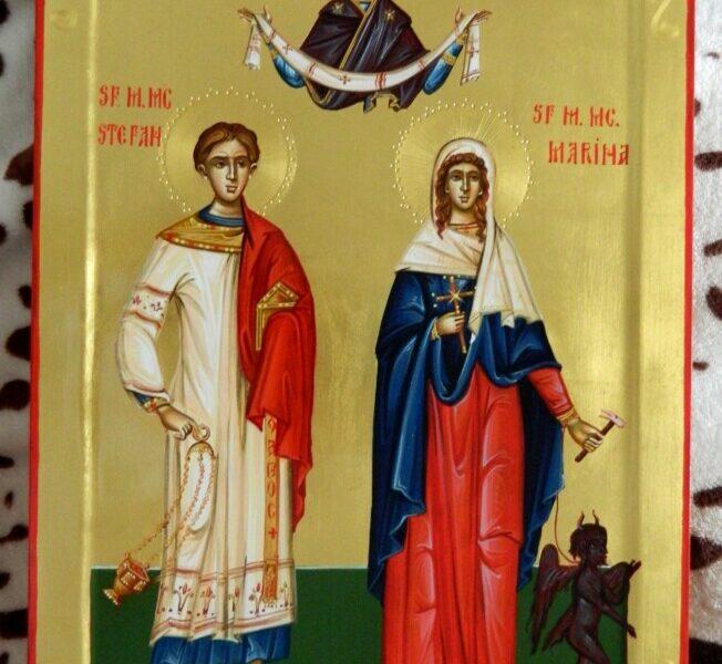 Sfantul si Intaiul Mucenic si Arhidiacon Stefan si Sfanta Mucenita Marina- Izbavitori de patimi si lucrare diavoleasca!
