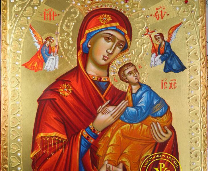 Maica Domnului a Patimirilor- Icoana mangaietoare a celor suferinzi !