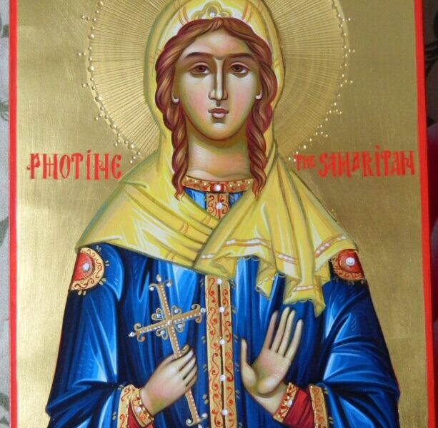Sfanta Mucenita Fotini Samarineanca- Ceea ce raspandeste lumina credintei in mijlocul necredinciosilor! Saint Martyr Photine the Samaritan-  The one who spreads the light of faith among the unbelievers!