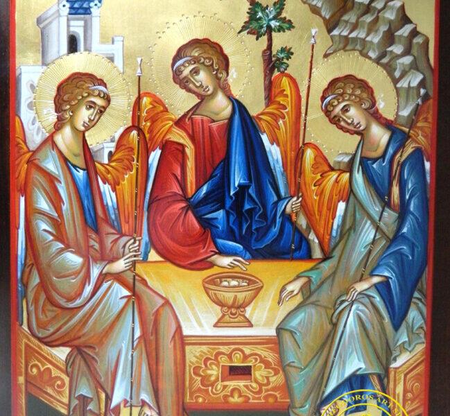 SFANTA TREIME- Cei trei ingeri de la Stejarul lui Mamvri! TATAL FIUL SI SFANTUL DUH