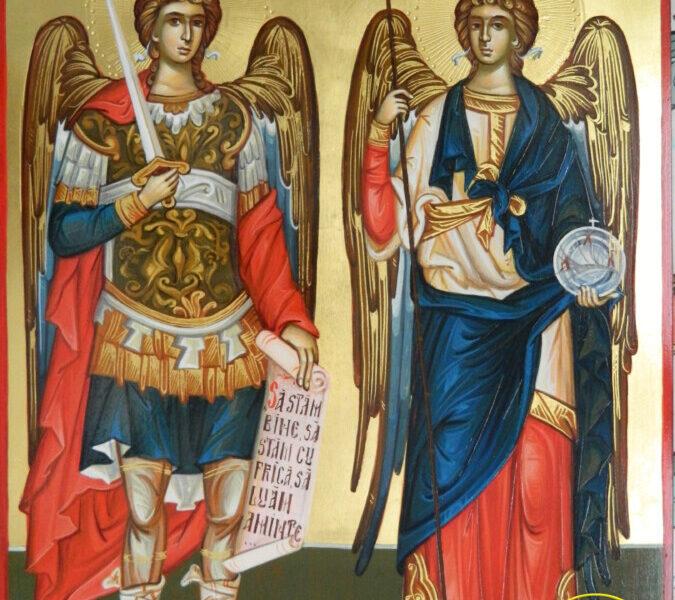 Sfintii Arhangheli Mihail si Gavriil- Cei doi aparatori ai sufletelor si caselor crestine!