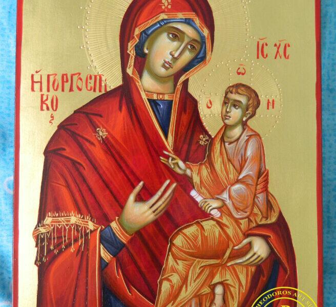 Maica Domnului Hodighitria- Icoana ce ne indruma pasii in viata, intotdeauna spre Hristos!
