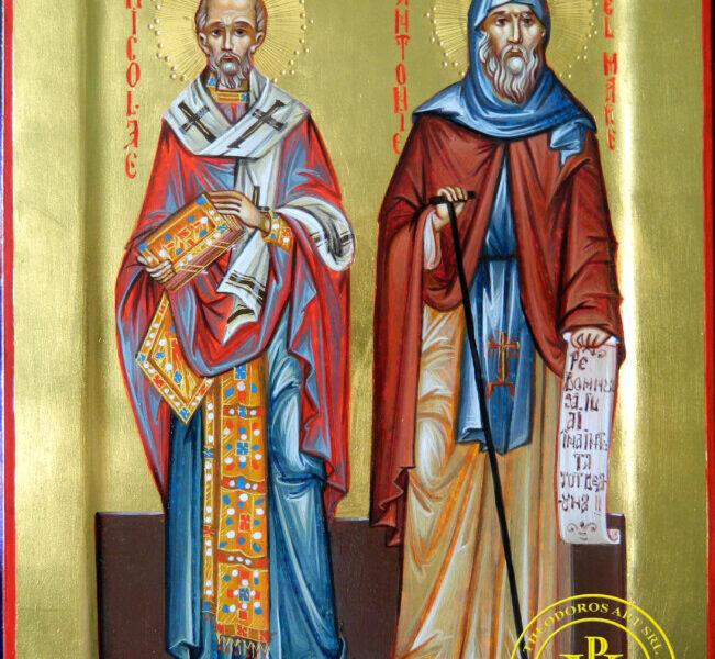 Sfantul Ierarh Nicolae si Sfantul Cuvios Antonie cel Mare- cei doi mari sfinti ocrotitori si pazitori ai familiei!