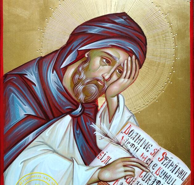Sfantul Cuvios Efrem Sirul- Ocrotitorul celor ce ii canta Lui Dumnezeu cu imne si laude !