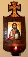 ICOANA SI CANDELA- Jertfa adusa icoanei, lumina candelei, rugaciunea sfantului tau ocrotitor!