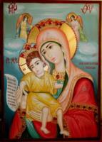 PREA SFANTA FECIOARA A INGERILOR- Icoana Maicii Domnului foarte iubita de credinciosi