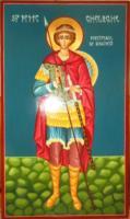 Icoana Sfantului Mare Mucenic Gheorghe- Purtatorul de Biruinta