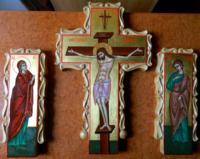 Crucea si moleniile de pe catapeteasma- Varful jertfei Mantuitorului, implinirea mantuirii noastre!